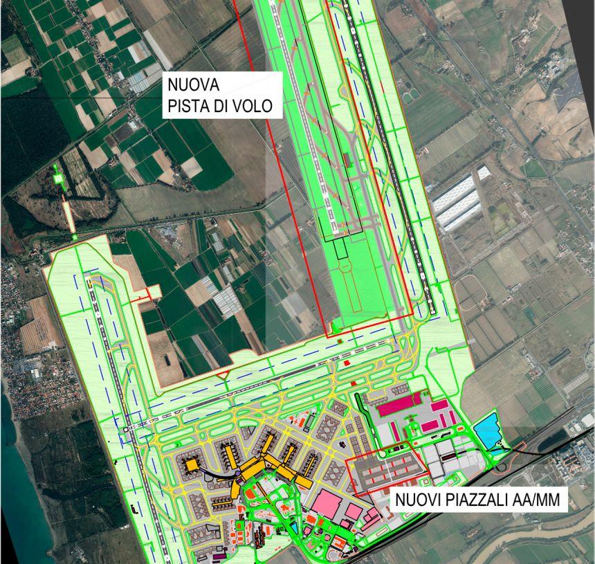 Leonardo da Vinci Rome Fiumicino Airport Airside System New
