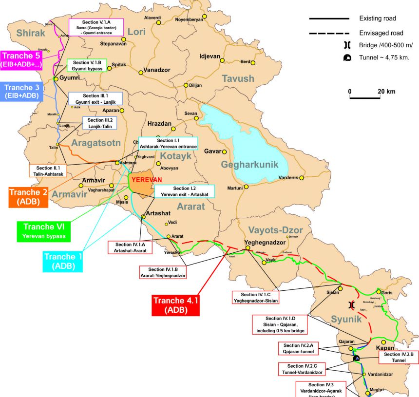 Technical Assistance For The Construction Supervision Of Tranche - Gyumri map